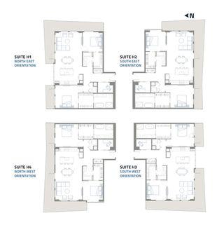 Photo 7: 3404 10019 104 Street in Edmonton: Zone 12 Condo for sale : MLS®# E4156356