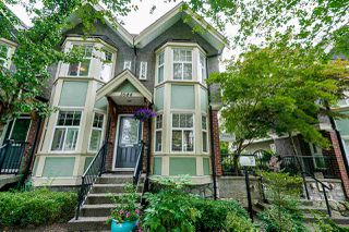 "Photo 1: 1644 E GEORGIA Street in Vancouver: Hastings Townhouse for sale in ""The Woodshire"" (Vancouver East)  : MLS®# R2480572"