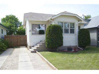 Photo 1: 216 Rutland Street in WINNIPEG: St James Residential for sale (West Winnipeg)  : MLS®# 1414398