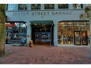 "Photo 19: 505 12 WATER Street in Vancouver: Downtown VW Condo for sale in ""GARAGE"" (Vancouver West)  : MLS®# V1141665"