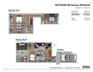 Photo 16: 67 10200 4TH Avenue in Richmond: Steveston North Townhouse for sale : MLS®# R2378993