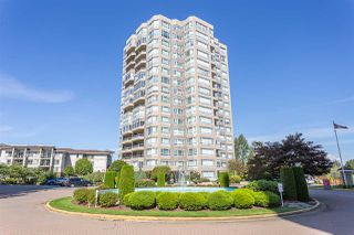 "Main Photo: 405 3190 GLADWIN Road in Abbotsford: Central Abbotsford Condo for sale in ""Regency Park Tower 3"" : MLS®# R2524768"