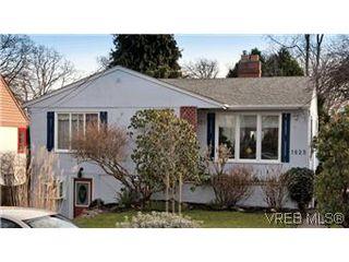 Photo 1: 1625 Yale St in VICTORIA: OB North Oak Bay House for sale (Oak Bay)  : MLS®# 567750