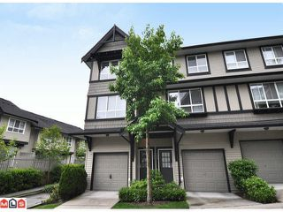 "Photo 1: 105 6747 203RD Street in Langley: Willoughby Heights Townhouse for sale in ""SAGEBROOK"" : MLS®# F1116766"