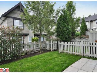 "Photo 9: 105 6747 203RD Street in Langley: Willoughby Heights Townhouse for sale in ""SAGEBROOK"" : MLS®# F1116766"