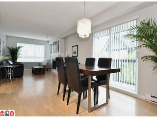 "Photo 5: 105 6747 203RD Street in Langley: Willoughby Heights Townhouse for sale in ""SAGEBROOK"" : MLS®# F1116766"
