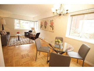 "Photo 4: 201 2469 CORNWALL Street in Vancouver: Kitsilano Condo for sale in ""DORSET HOUSE"" (Vancouver West)  : MLS®# V1100362"