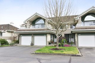 "Photo 1: 147 4001 OLD CLAYBURN Road in Abbotsford: Abbotsford East Townhouse for sale in ""CEDAR SPRINGS"" : MLS®# F1439448"