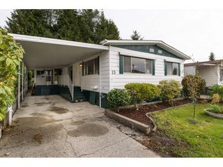 """Photo 2: 15 1640 162 Street in Surrey: King George Corridor Manufactured Home for sale in """"CHERRY BROOK PARK"""" (South Surrey White Rock)  : MLS®# R2145736"""