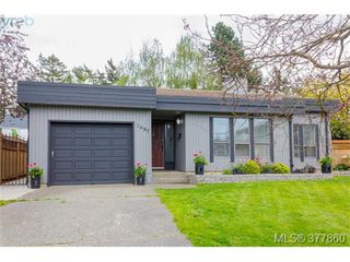 Main Photo: 1687 Brousson Drive in VICTORIA: SE Gordon Head Single Family Detached for sale (Saanich East)  : MLS®# 377860