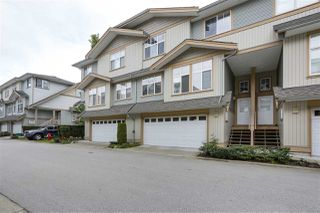 "Main Photo: 28 7518 138 Street in Surrey: East Newton Townhouse for sale in ""GREYHAWK"" : MLS®# R2361525"