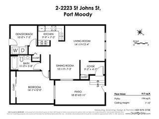 """Photo 20: 2 2223 ST JOHNS Street in Port Moody: Port Moody Centre Townhouse for sale in """"PERRY'S MEWS"""" : MLS®# R2363236"""