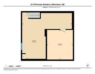 Photo 33: 211 PRIMROSE GARDENS Gardens in Edmonton: Zone 20 Townhouse for sale : MLS®# E4187396