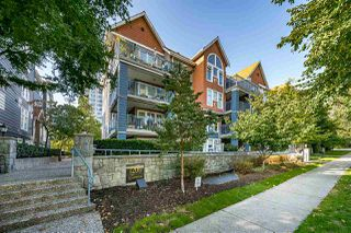 """Photo 1: 208 1200 EASTWOOD Street in Coquitlam: North Coquitlam Condo for sale in """"LAKESIDE TERRACE"""" : MLS®# R2506576"""