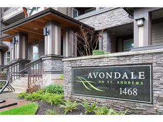 "Photo 1: 105 1468 ST ANDREWS Avenue in North Vancouver: Central Lonsdale Condo for sale in ""Avondale"" : MLS®# V874368"