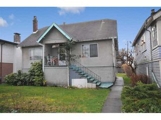 Photo 1: 630 E 19 Avenue in vancouver: Fraser VE House for sale (Vancouver East)  : MLS®# MLS# V935623