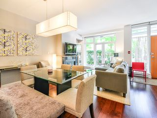 "Photo 1: 1669 W 8TH Avenue in Vancouver: Fairview VW Townhouse for sale in ""Camera"" (Vancouver West)  : MLS®# V1066169"