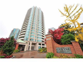 "Photo 1: 1502 6659 SOUTHOAKS Crescent in Burnaby: Highgate Condo for sale in ""GEMINI II"" (Burnaby South)  : MLS®# V1099936"