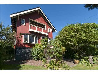 Photo 1: 1733 WATERLOO Street in Vancouver: Kitsilano House for sale (Vancouver West)  : MLS®# V1142962