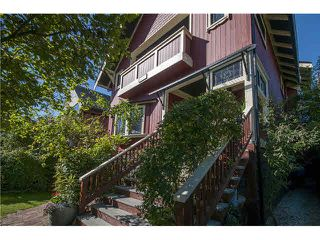 Photo 3: 1733 WATERLOO Street in Vancouver: Kitsilano House for sale (Vancouver West)  : MLS®# V1142962