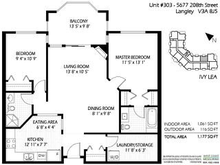"""Photo 20: 303 5677 208 Street in Langley: Langley City Condo for sale in """"IVY LEA"""" : MLS®# R2000017"""
