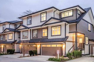 "Photo 1: 43 6350 142 Street in Surrey: Sullivan Station Townhouse for sale in ""Canvas"" : MLS®# R2227218"