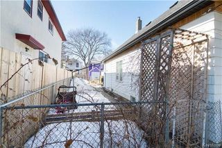 Photo 16: 626 Burnell Street in Winnipeg: West End Residential for sale (5C)  : MLS®# 1807107