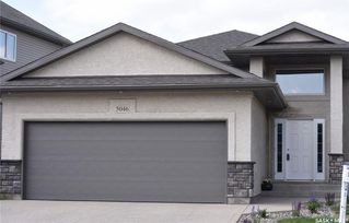 Photo 1: 5046 Snowbirds Crescent in Regina: Harbour Landing Residential for sale : MLS®# SK734818