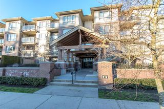 "Photo 1: 201 2175 FRASER Avenue in Port Coquitlam: Glenwood PQ Condo for sale in ""THE RESIDENCES ON SHAUGHNESSY"" : MLS®# R2330328"
