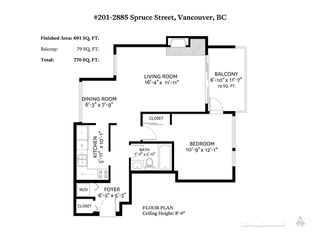 "Photo 4: 201 2885 SPRUCE Street in Vancouver: Fairview VW Condo for sale in ""FAIRVIEW GARDENS"" (Vancouver West)  : MLS®# R2350487"