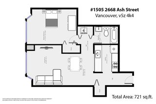 "Photo 20: 1505 2668 ASH Street in Vancouver: Fairview VW Condo for sale in ""CAMBRIDGE GARDENS"" (Vancouver West)  : MLS®# R2354882"