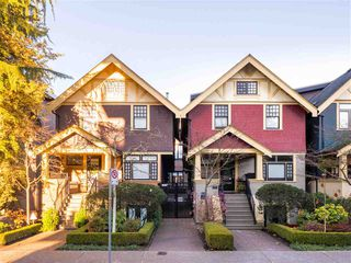 Photo 1: 1419 W 11TH Avenue in Vancouver: Fairview VW Townhouse for sale (Vancouver West)  : MLS®# R2359397