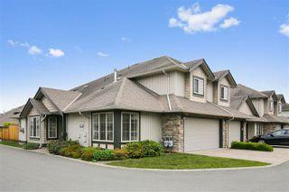 "Photo 1: 13 6449 BLACKWOOD Lane in Sardis: Sardis West Vedder Rd Townhouse for sale in ""Cedar Park"" : MLS®# R2375864"