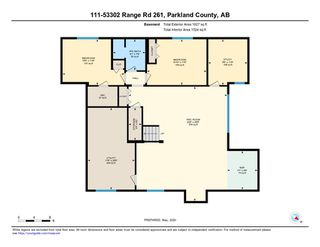 Photo 49: 111 Connelly Drive: Rural Parkland County House for sale : MLS®# E4206123