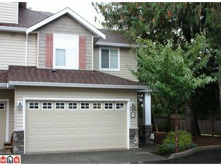 "Photo 1: 9 45152 WELLS Road in Sardis: Sardis West Vedder Rd Townhouse for sale in ""MAYBERRY LANE"" : MLS®# H1104382"