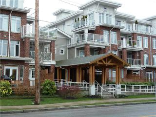 "Photo 1: 404 4280 MONCTON Street in Richmond: Steveston South Condo for sale in ""THE VILLAGE IMPERIAL LANDING"" : MLS®# V927348"