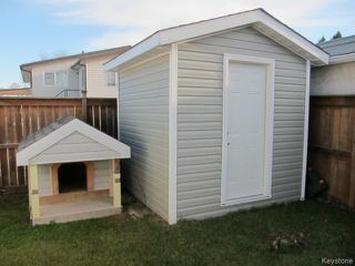 Photo 17: 23 Marquis Crescent in WINNIPEG: Maples / Tyndall Park Residential for sale (North West Winnipeg)  : MLS®# 1426156