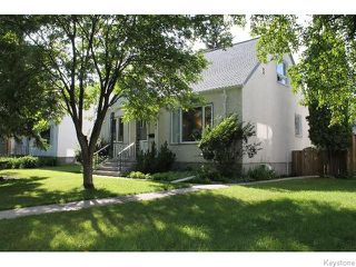 Photo 1: 547 Montague Avenue in WINNIPEG: Fort Rouge / Crescentwood / Riverview Residential for sale (South Winnipeg)  : MLS®# 1518841