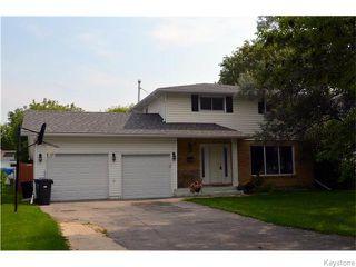 Main Photo: 110 Twain Drive in WINNIPEG: Westwood / Crestview Residential for sale (West Winnipeg)  : MLS®# 1523853