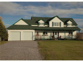 Photo 1: 338164 38 Street W: Rural Foothills M.D. House for sale : MLS®# C4035375