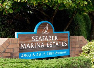 "Photo 1: 209 4803 48 Avenue in Delta: Ladner Elementary Condo for sale in ""SEAFARER GARDEN ESTATES"" (Ladner)  : MLS®# R2116543"