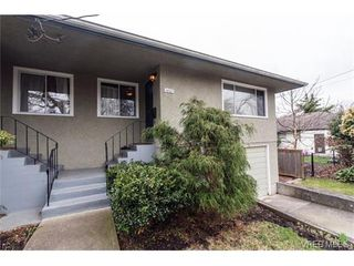 Photo 2: 1607 Chandler Avenue in VICTORIA: Vi Fairfield East Strata Duplex Unit for sale (Victoria)  : MLS®# 375388