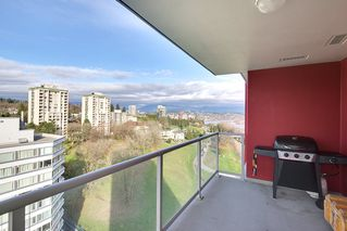 "Photo 11: 1706 125 COLUMBIA Street in New Westminster: Downtown NW Condo for sale in ""NORTHBANK"" : MLS®# R2167534"