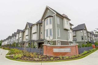 """Photo 1: 142 8138 204 Street in Langley: Willoughby Heights Townhouse for sale in """"ASHBURY + OAK"""" : MLS®# R2188399"""