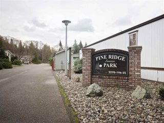 "Photo 20: 81 2270 196 Street in Langley: Brookswood Langley Manufactured Home for sale in ""Pineridge Park"" : MLS®# R2224829"