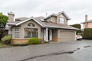 "Photo 1: 6 9820 HADDON Drive in Richmond: Lackner Townhouse for sale in ""Lackner"" : MLS®# R2355790"