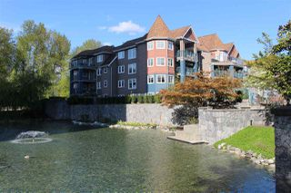 "Photo 1: 403 1200 EASTWOOD Street in Coquitlam: North Coquitlam Condo for sale in ""LAKESIDE TERRACE"" : MLS®# R2484814"