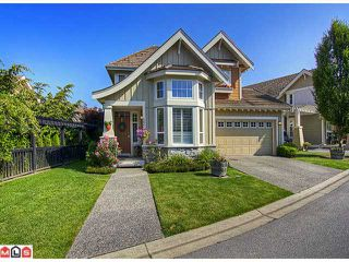 "Photo 1: 63 15288 36TH Avenue in Surrey: Morgan Creek House for sale in ""CAMBRIA"" (South Surrey White Rock)  : MLS®# F1218589"