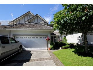 "Photo 1: 51 5811 122ND Street in Surrey: Panorama Ridge Townhouse for sale in ""Lakebridge"" : MLS®# F1314502"