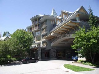 Main Photo: # 410 4315 NORTHLANDS BV in Whistler: Whistler Village Condo for sale : MLS®# V1016436